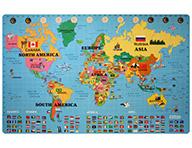Foam World Map Kit