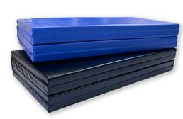 "4'x8'x2"" PU Leather Folding Mats"