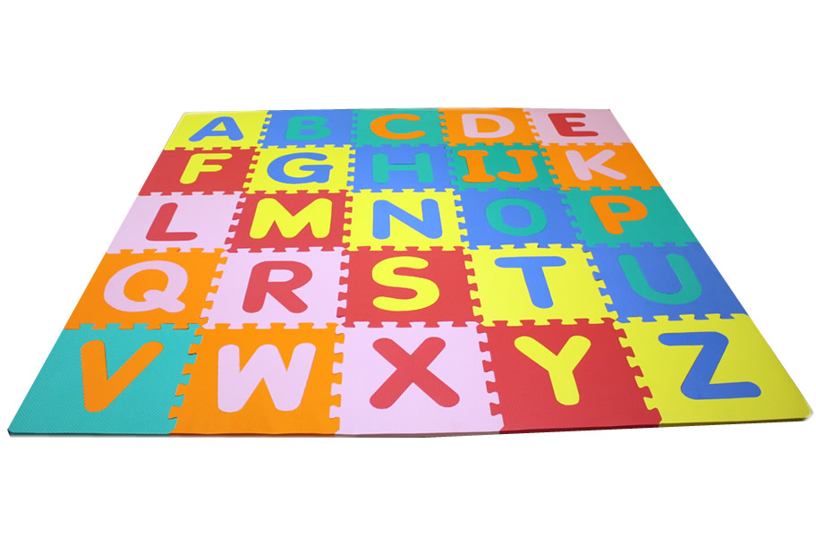 Foam Alphabet Mat Soft And Safe Kids Mat