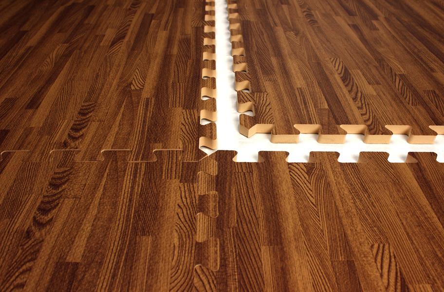 Premium Soft Wood Tiles Decorative Foam Flooring