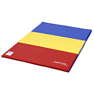 Primary Rainbow Tumbling Mats by Tumbl Trak