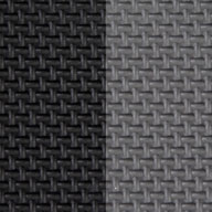 "Black/Grey 7/8"" Jumbo Soft Tiles"