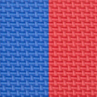 "Blue/Red 7/8"" Jumbo Soft Tiles"