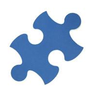 Blue Puzzle Mats