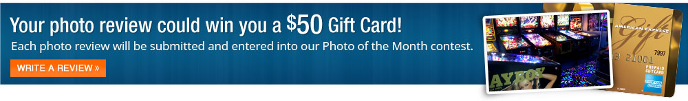 Your photo review could win you a $50 Visa Gift Card