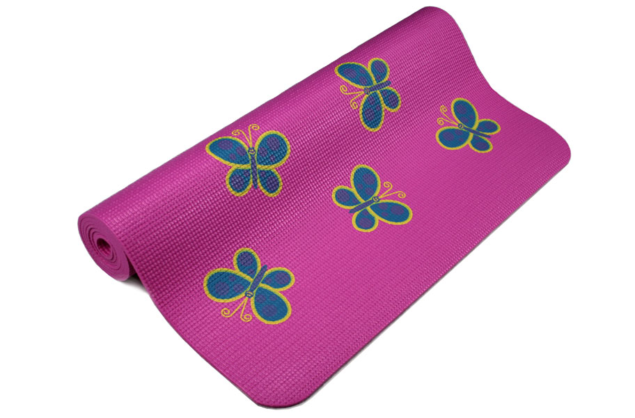 Kids Yoga Mat Small Yoga Mat Available In Pink Blue